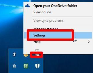 open-onedrive-settings