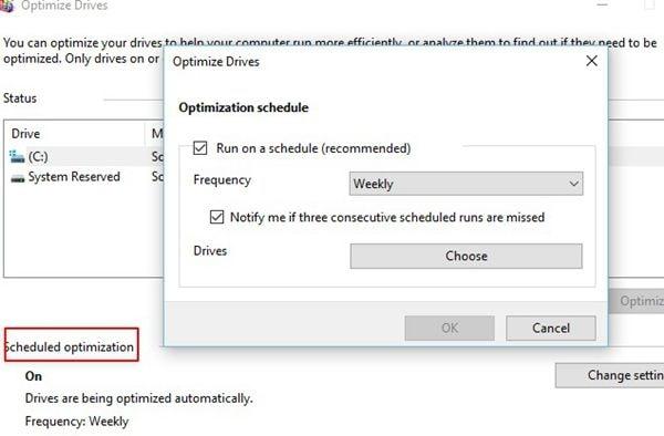 optimization-schedule-settings