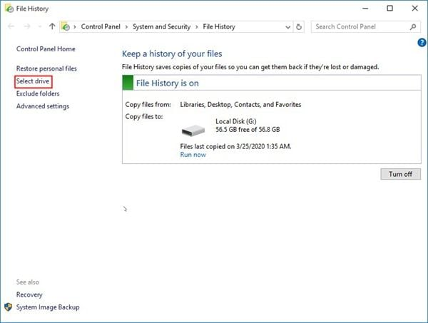 reconnect-file-history-drive-1