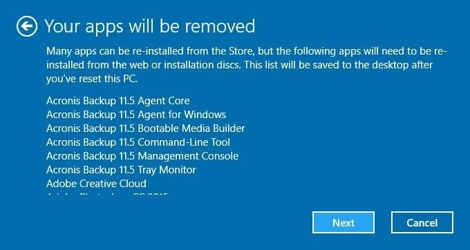 refresh windows 10 6