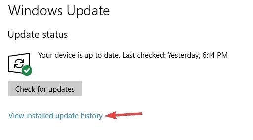 remove problematic updates 2