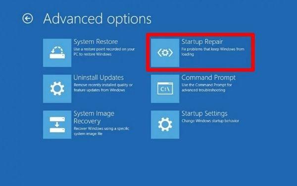 select-startup-repair-option