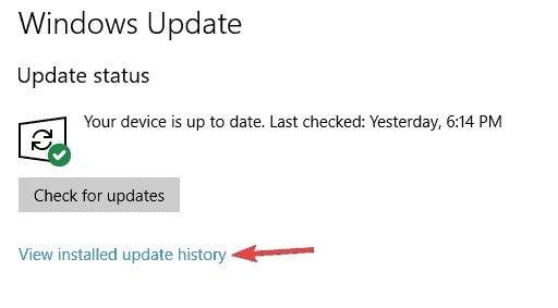 disinstallare aggiornamenti recenti di windows 1