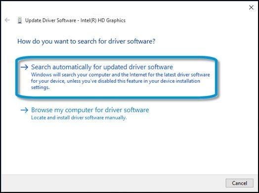 aggiornamento driver 2 5