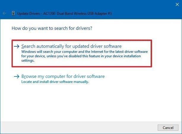 update driver 8