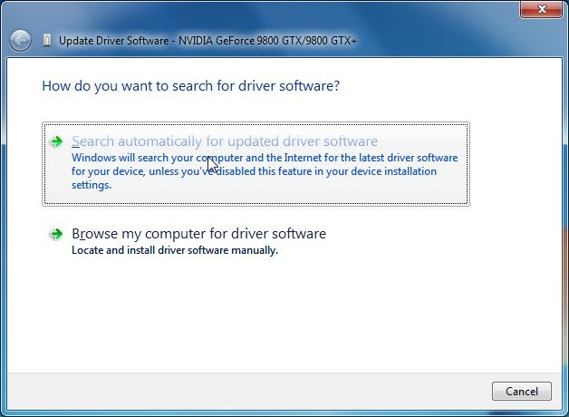 Installing Graphics Driver