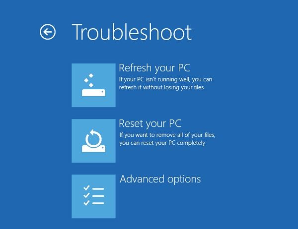Windows Troubleshooting Feature