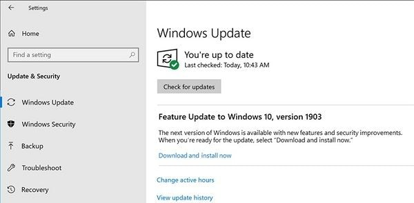 Update Windows Firmware