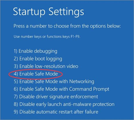 Windows Enable Safe Mode