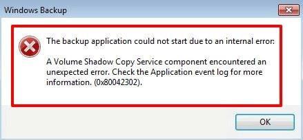 vss-error-during-backup
