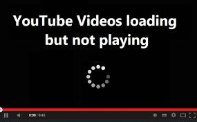 youtube videos keeps loading not playing