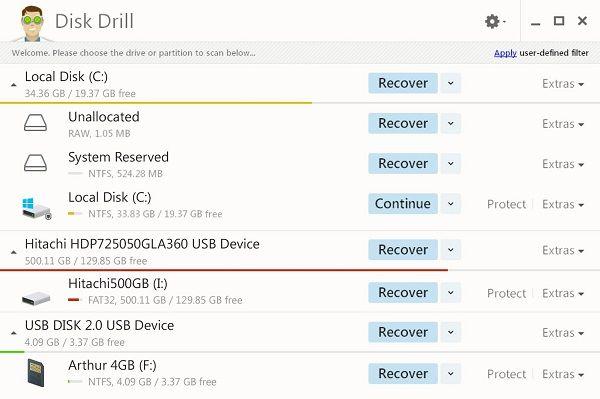 Disk Drill Windows