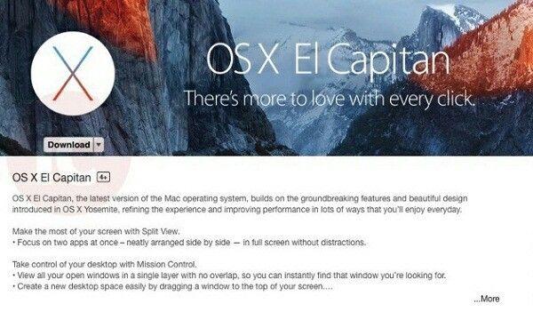 Download El Capitan Update