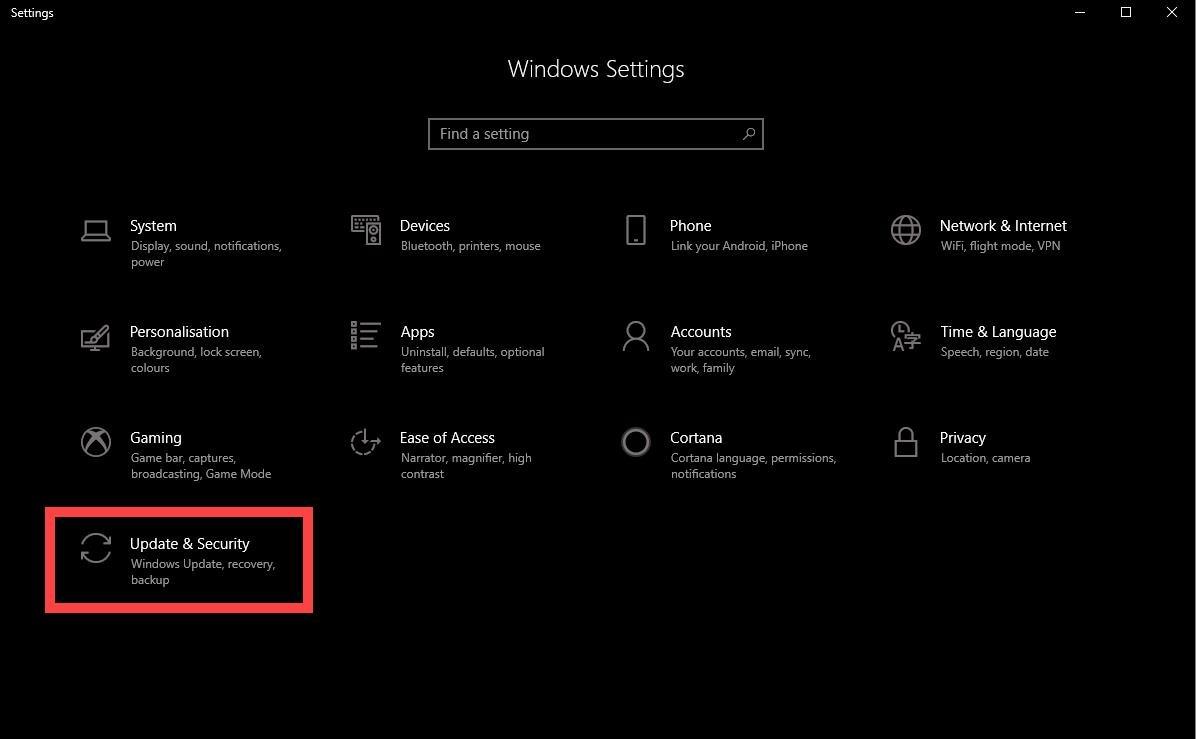 run windows update troubleshooter 1