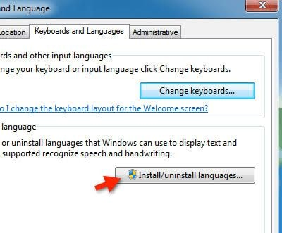 uninstall language pack 3