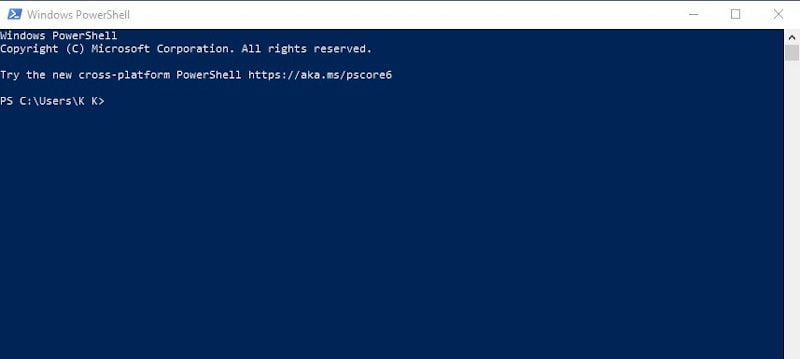 exfat format with powershell