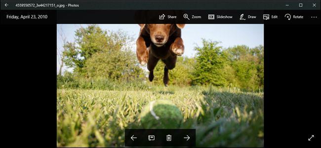 use windows photos app
