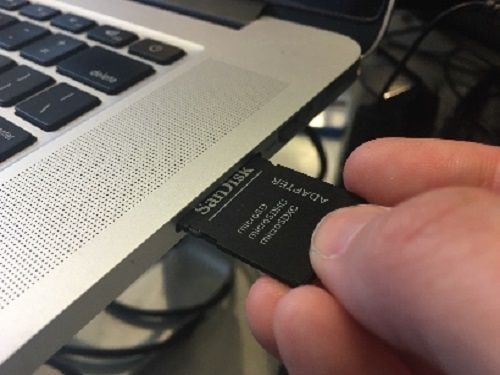 Plug in SD Card Adapter