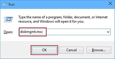 open disk management windows