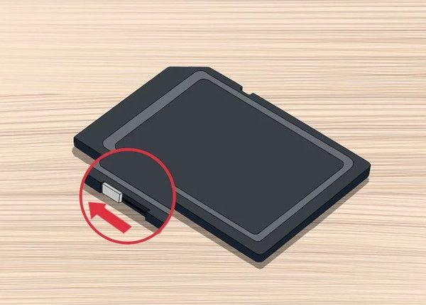 remove sd card write protect