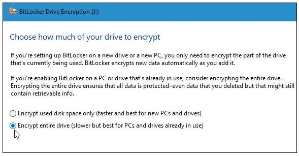 encrypt your sd card