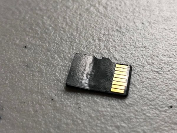 replace corrupted SD card