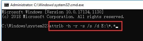 command in command prompt