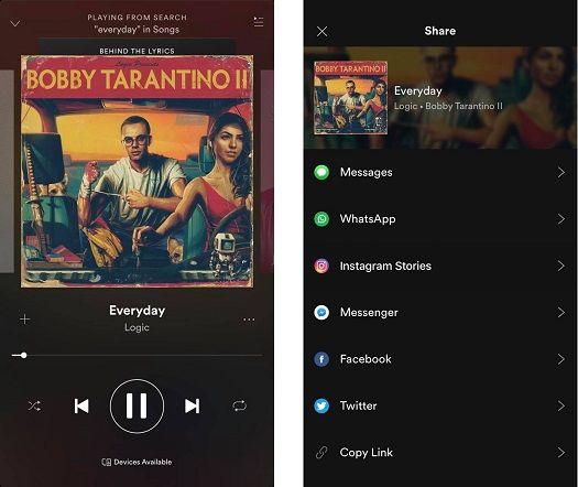 spotify share music