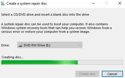 system-repair-disc-progress