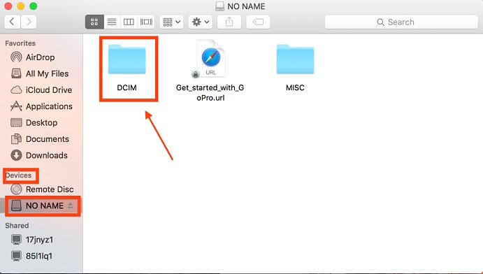Move Photos from Mac to an SD Card