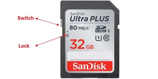 SD Card Write Protection