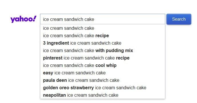 Yahoo Image Search