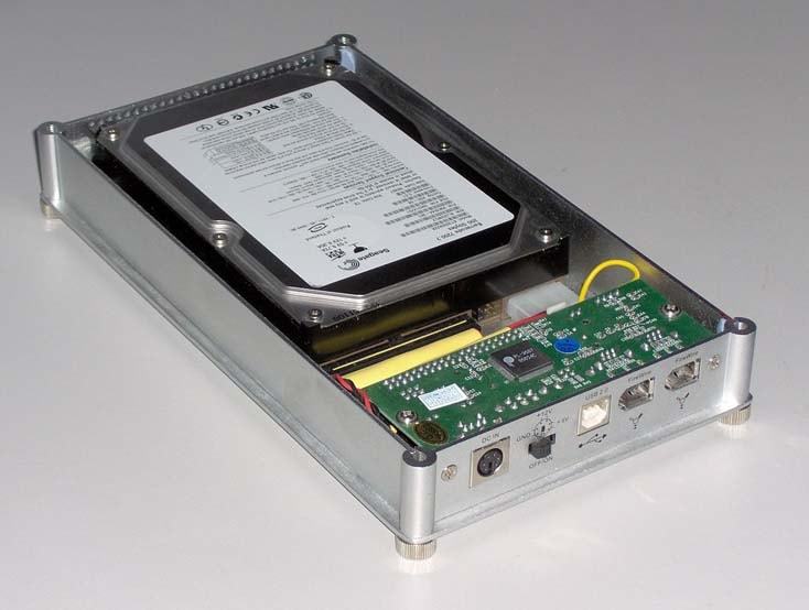 a hard drive disk enclosure