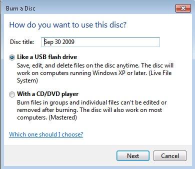 backup files like usb drive