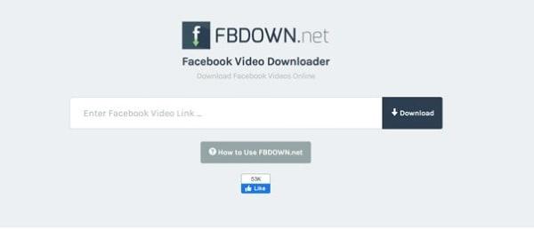 baixe o vídeo do facebook no android