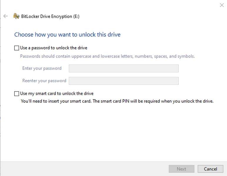 encrypt a hard drive 3