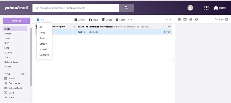 select-email-to-delete