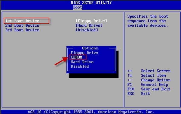 BIOS Booting Sequence