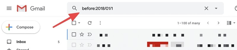Gmail Filter Before Date