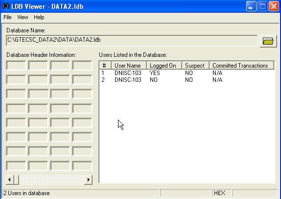 deleting ldf format files manually