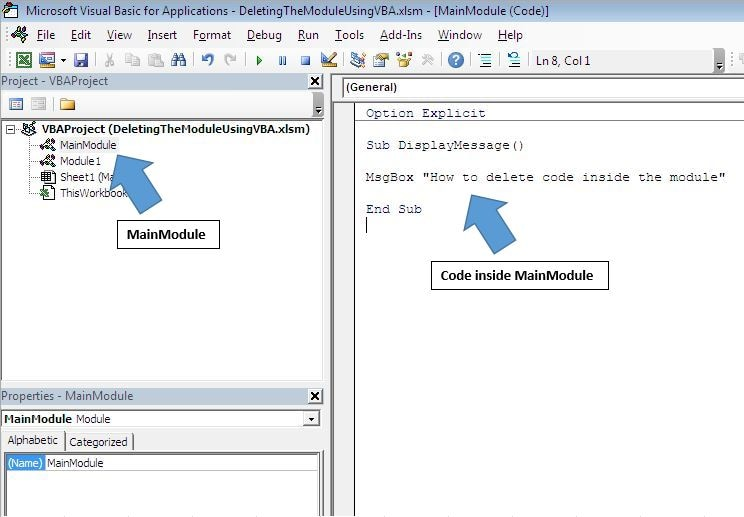 removing compiled VBA code from the database