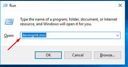 How to start windows device manager