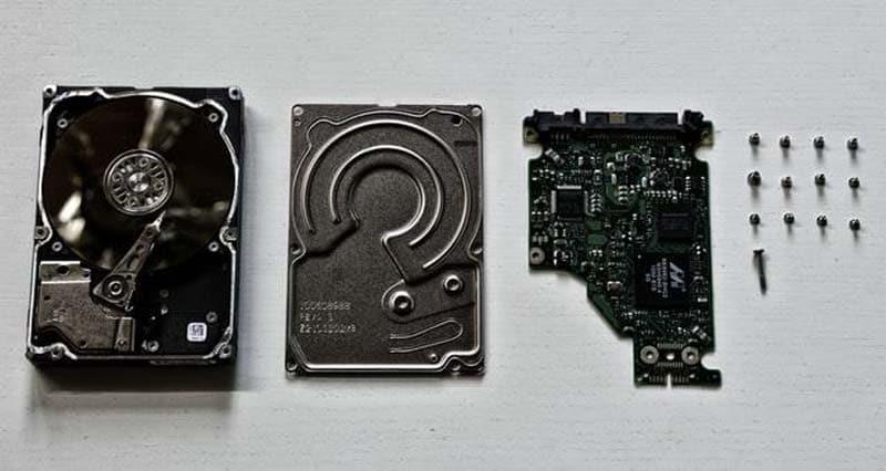repair the hard drive motor