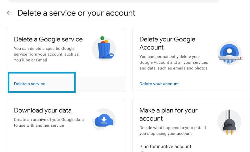Delete Google Services