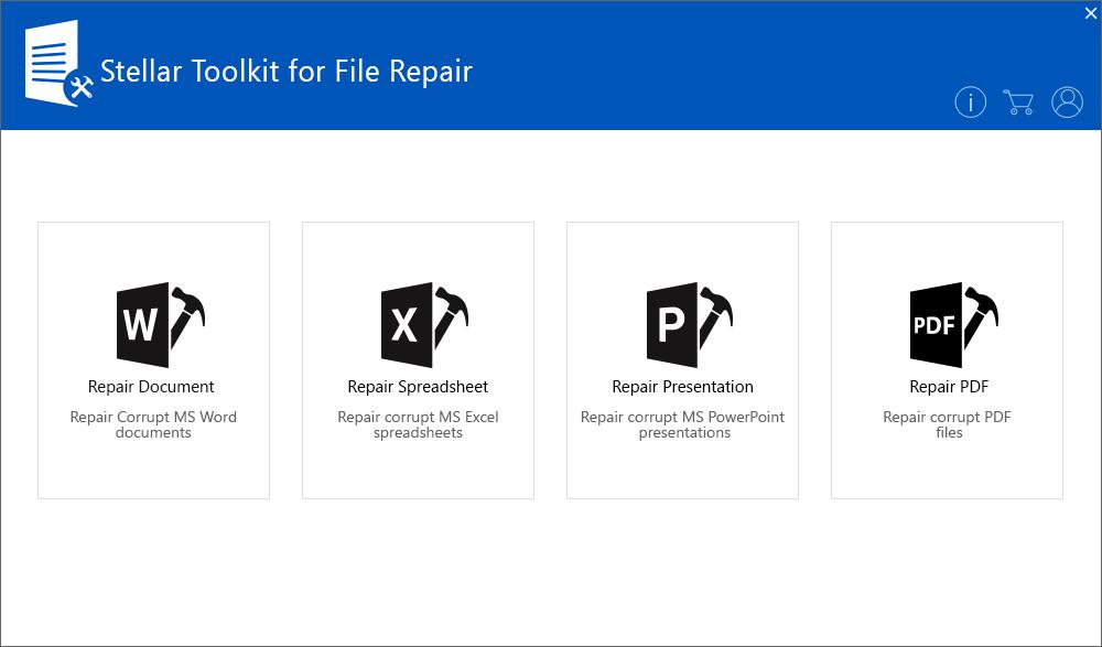Repair PDF in Stellar Toolkit