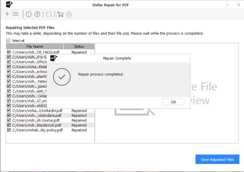 Saving PDF files in Stellar
