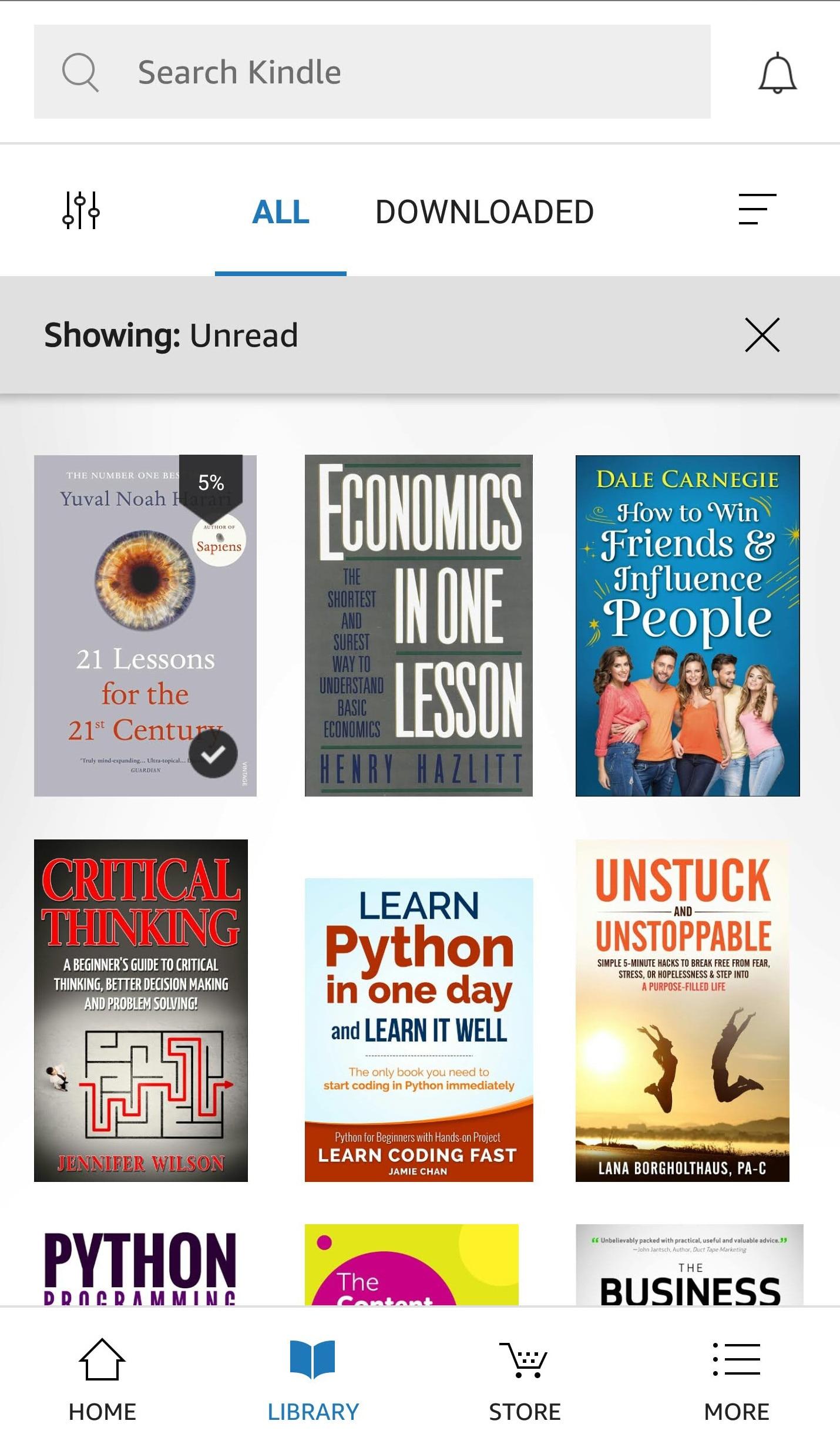 Amazon Kindly Library