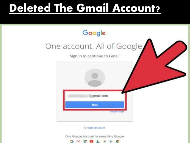 recover Gmail account with recovery email