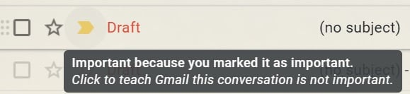 Gmail Label Star Mails