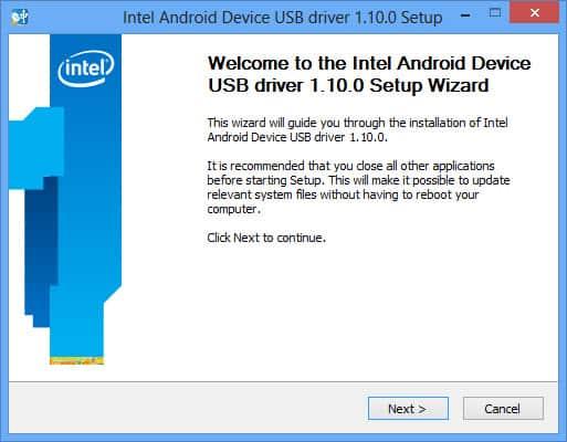 Re-install USB drivers Windows 10